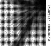 grunge halftone black and white ...   Shutterstock .eps vector #794628424