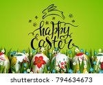 template vector card with... | Shutterstock .eps vector #794634673