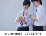 japanese businessman to use the ...   Shutterstock . vector #794637946