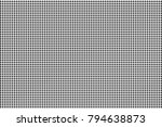 black white dotted halftone... | Shutterstock .eps vector #794638873