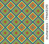 bright seamless pattern with... | Shutterstock . vector #794643190