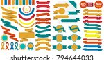 vintage retro vector logo for... | Shutterstock .eps vector #794644033