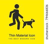 running bright yellow material...