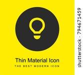 light bulb bright yellow... | Shutterstock .eps vector #794671459