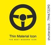 vehicle steering wheel bright... | Shutterstock .eps vector #794672290