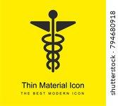 pharmacy bright yellow material ...