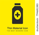 medicine bright yellow material ...