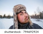 close up portrait of middle... | Shutterstock . vector #794692924