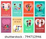 be my valentine  romance and... | Shutterstock .eps vector #794712946