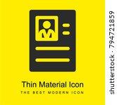 resume bright yellow material...