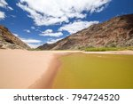 panoramic view of rests of... | Shutterstock . vector #794724520