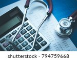 financial health concept | Shutterstock . vector #794759668