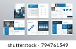 template layout design with... | Shutterstock .eps vector #794761549