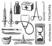 Vintage Medical Icons...