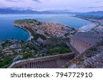 nafplio old city and bay  from... | Shutterstock . vector #794772910