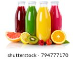 juice smoothie smoothies in... | Shutterstock . vector #794777170