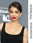sarah hyland at the 23rd annual ... | Shutterstock . vector #794784244