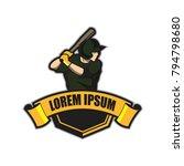 baseball vector logo template | Shutterstock .eps vector #794798680