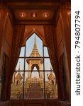 the royal crematorium glimps of ...   Shutterstock . vector #794807794