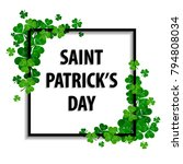 saint patrick's day vector... | Shutterstock .eps vector #794808034