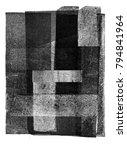 vintage halftone print texture... | Shutterstock . vector #794841964