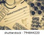 medical healthcare concept | Shutterstock . vector #794844220