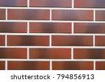 brick wall background | Shutterstock . vector #794856913