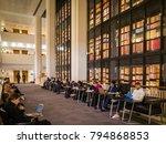 london  january  2018  interior ... | Shutterstock . vector #794868853