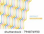 colorful abstract background.... | Shutterstock .eps vector #794876950