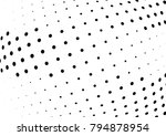 abstract halftone wave dotted... | Shutterstock .eps vector #794878954