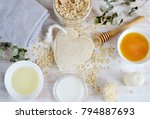 natural ingredients for... | Shutterstock . vector #794887693