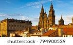 Santiago de Compostela Cathedral Galicia Spain