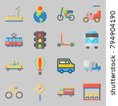 icons set about transportation. ... | Shutterstock .eps vector #794904190