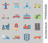 icons set about transportation. ... | Shutterstock .eps vector #794904400