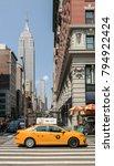 new york city  ny  usa 05.28... | Shutterstock . vector #794922424
