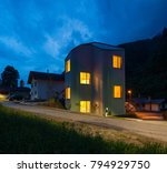 exteriors of modern house in... | Shutterstock . vector #794929750
