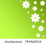 spring green nature background ... | Shutterstock .eps vector #794960524