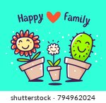 vector colorful illustration of ... | Shutterstock .eps vector #794962024