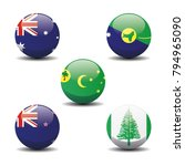 australia and new zealand... | Shutterstock .eps vector #794965090