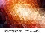 dark red vector christmas... | Shutterstock .eps vector #794966368