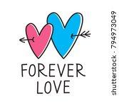 love background design | Shutterstock .eps vector #794973049