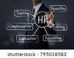 hr  human resources management  ...   Shutterstock . vector #795018583