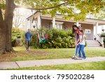 Children Playing On Garden...