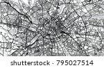 urban vector city map of... | Shutterstock .eps vector #795027514