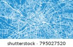 urban vector city map of... | Shutterstock .eps vector #795027520
