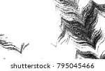 black and white horizontal wavy ... | Shutterstock . vector #795045466