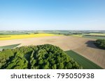 aerial view of fields in the... | Shutterstock . vector #795050938
