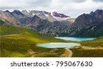qinghai   tibet plateau scenery | Shutterstock . vector #795067630