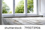 window of spring time and... | Shutterstock . vector #795073906