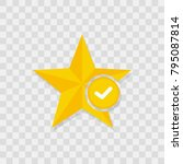 star favorite sign web icon... | Shutterstock .eps vector #795087814